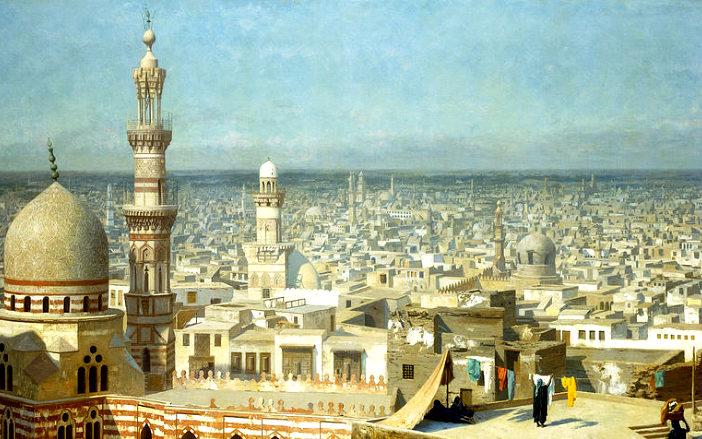Вид на Каир, (холст, масло), Жером, Жан Леон (1824-1904)